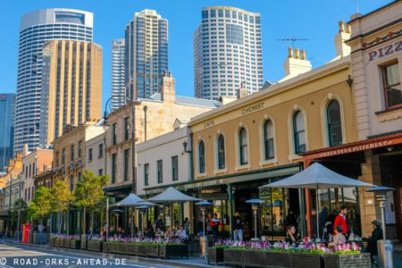 Alt neben Neu passt in Sydney gut zusammen
