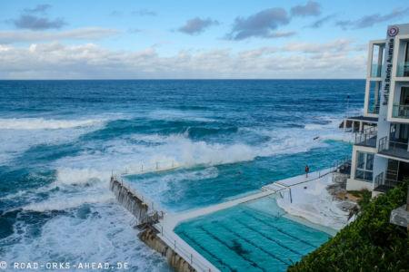 Strandschwimmbad in Sydney