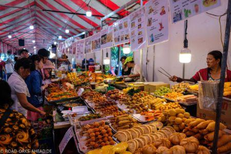 Yeah, breite Auswahl in Saigon