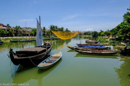 Fluss Thu Bon