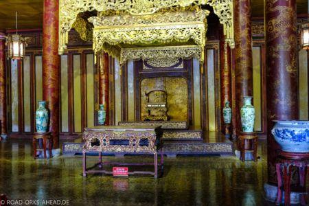 Thronsaal im Kaiserpalast, Hue