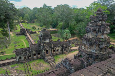 Blick über Angkor