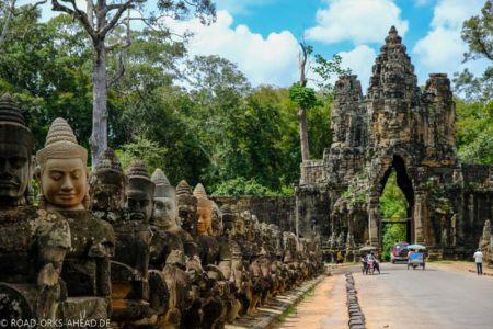 Angkor Thom - südliches Tor