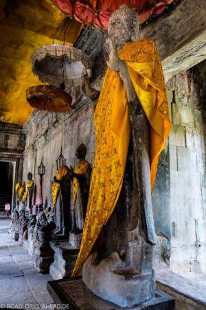 Buddhaverehrung Angkor Wat