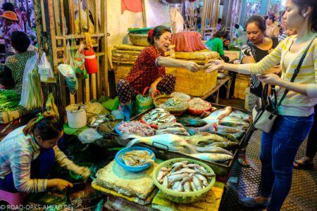 Fischmarkt Phnom Penh