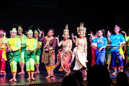 Traditionelle Khmer Tänze