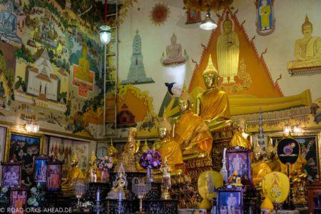 Einer der zahlreichen Wat's in Bangkok