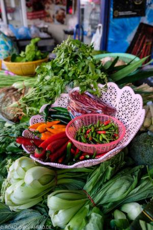 Einkaufen auf dem Markt, heute kochen wir