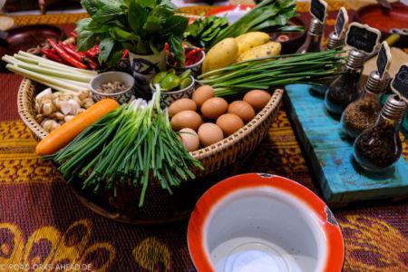 Kochzutaten Thailand