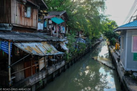 Kanäle in Bangkok