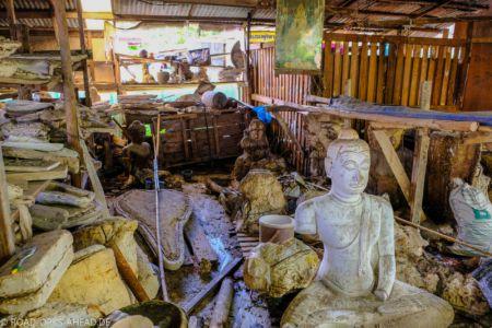 Buddhaherstellung Phitsanulok