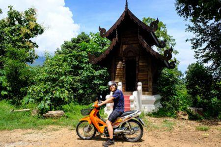 Mit dem Roller durch Thailand