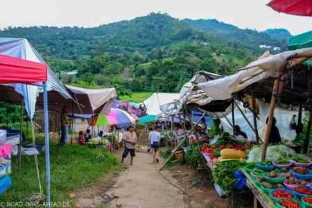Dorfmarkt Thailand