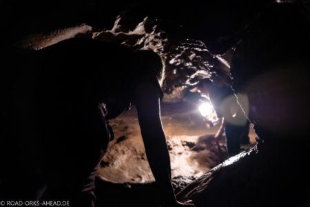 Chiang Dao Höhle, kraxeln erforderlich