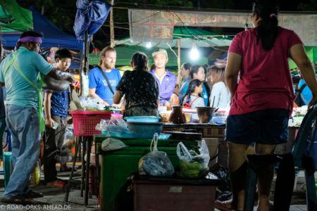 Streetfood auf dem Phayao Freitagsmarkt