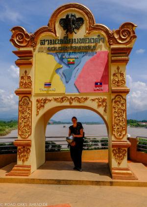 Goldenes Dreieck (Thailand, Laos, Myanmar)