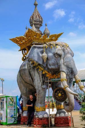 Nils mit Elefant