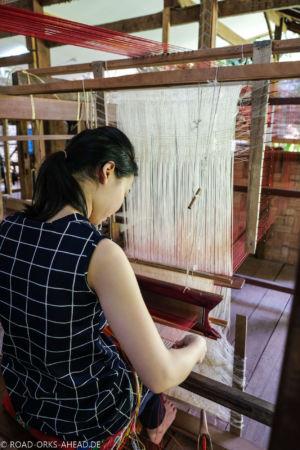 Weberei - Pop Tok Living Craft Center