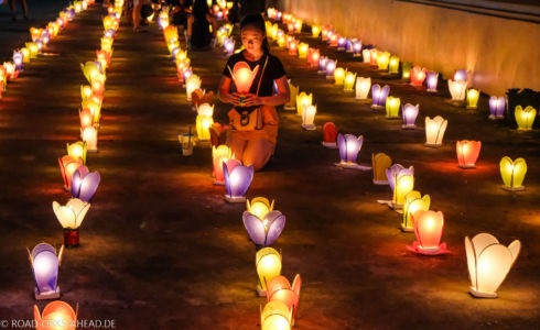 Lichterfest in Laos