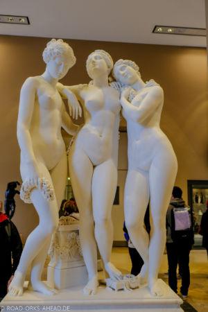 3 Schönheiten im Louvre