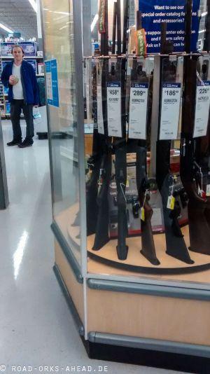 Na Waffe im Walmart?