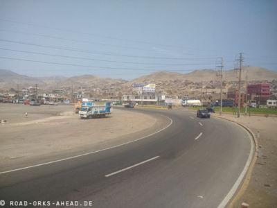 Limas Vororte sind nicht schön